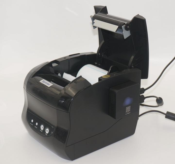这款打印机的宽度在80MM,我们觉得比较小巧但内部空间有挺大,目前的采购价格在258元,券后的价格在253包邮,在奶茶、商超、面包店等行业我们认为都能得到很好的应用。